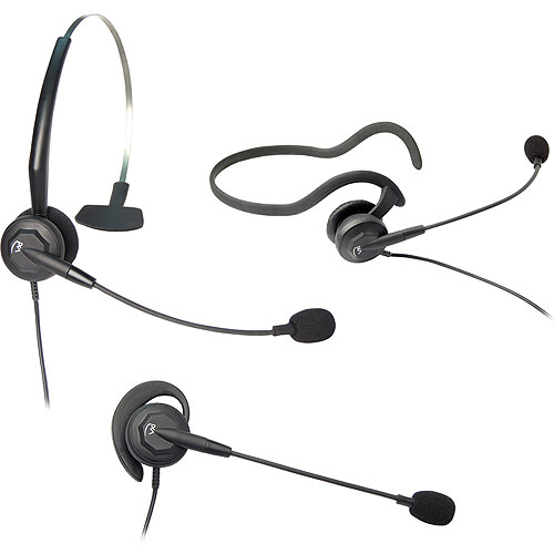 VXI 202786 Tria-V DC Convertible Monaural Single-Wire Headset by VXI