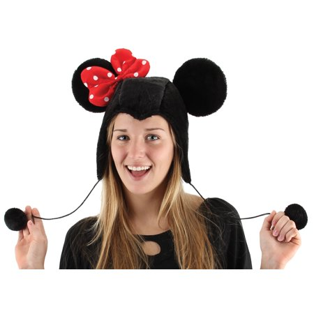Minnie Mouse Hoodie Hat Halloween Accessory