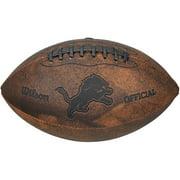 "Gulf Coast NFL Wilson 9"" Throwback Football, Detroit Lions by Generic"