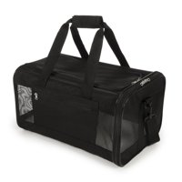 TrustyPup Travel Easy Explorer? Airline Approved Pet Carrier, Medium, Black