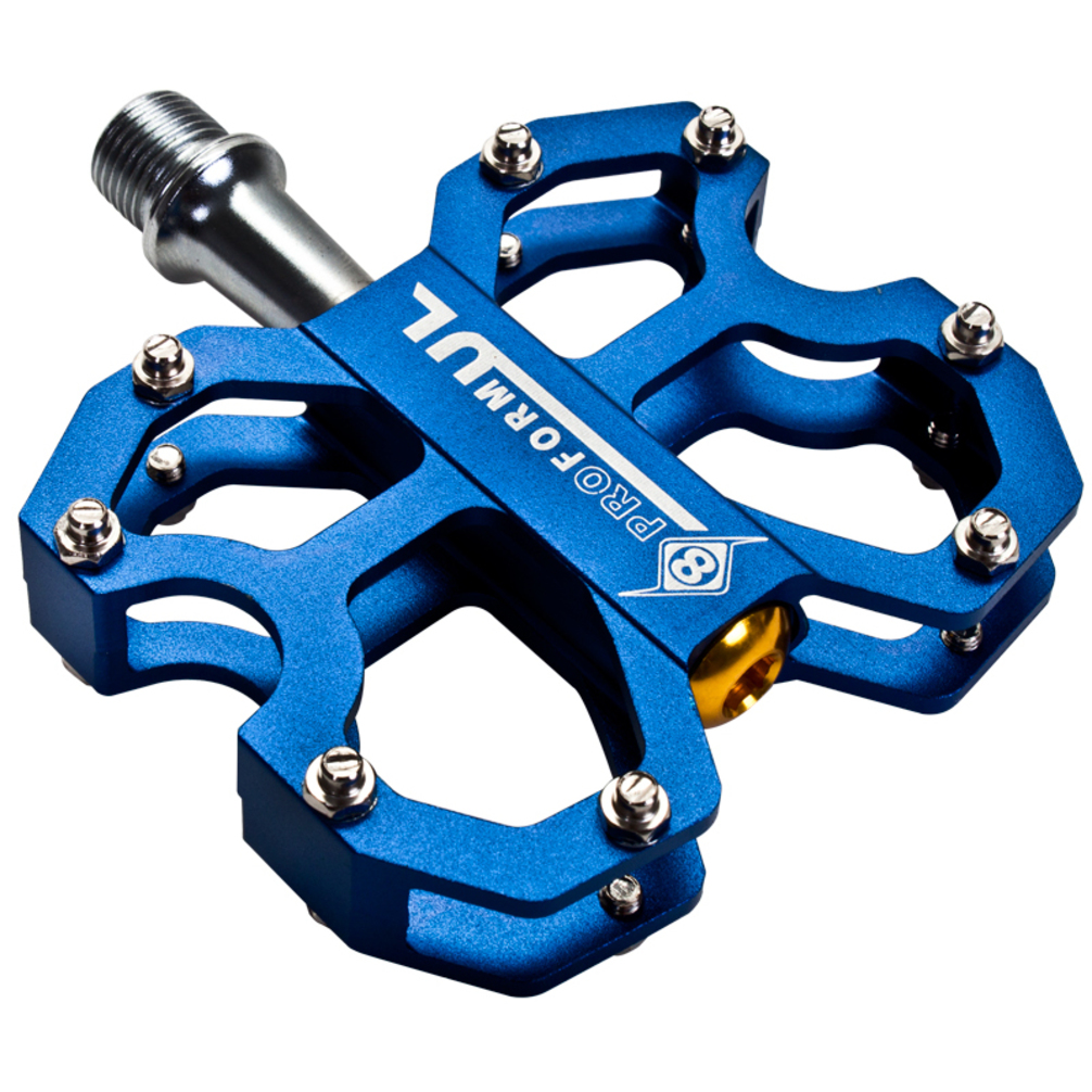 Origin8 Pedals Proform UltraLight CNC Sb 9/16 Blue