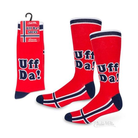 Mozlly Accoutrements Uff Da! Socks (Multipack of 3) Novelty Fashion Accessories Mozlly Accoutrements Uff Da! Socks (Multipack of 3) Novelty Fashion Accessories
