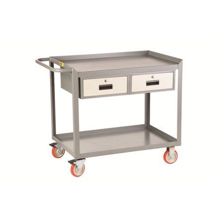Little Giant USA Mobile Utility Cart with Storage Drawers ()