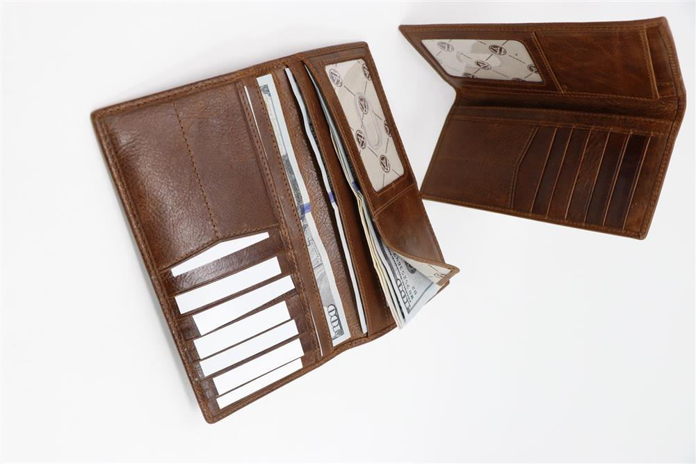 Oklahoma State University Westbridge Leather Wallet