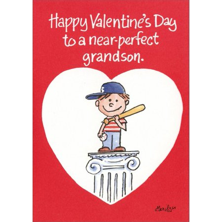 Recycled Paper Greetings Near Perfect Grandson Valentine's Day - Paper Valentine
