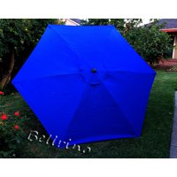 "BELLRINO DECOR Replacement "" STRONG & THICK "" Umbrella Canopy for 9ft 6 Ribs (Canopy Only)"
