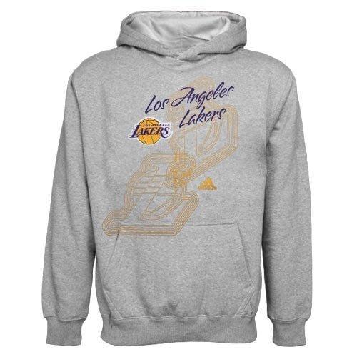 Adidas NBA Youth Girls Los Angeles Lakers Popover Hoodie, Hooded Sweatshirt
