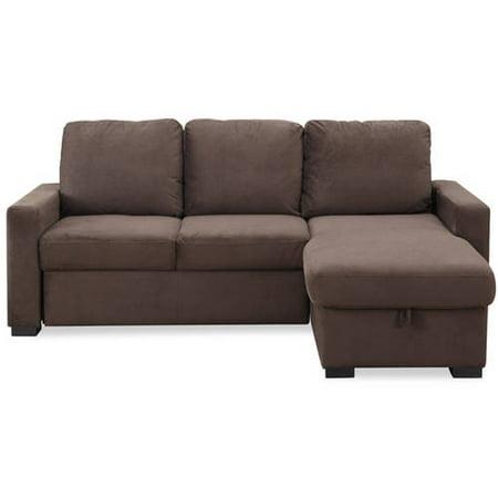 Hamilton sectional sleeper sofa java walmartcom for Sectional sofas hamilton