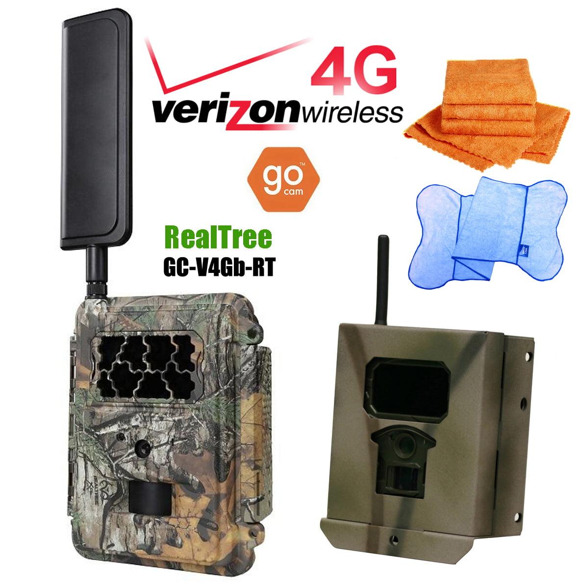 Spartan HD GoCam (2-year warranty) with FREE Security Box (Verizon 4G/LTE, Blackout Infrared) - PLUS PKG