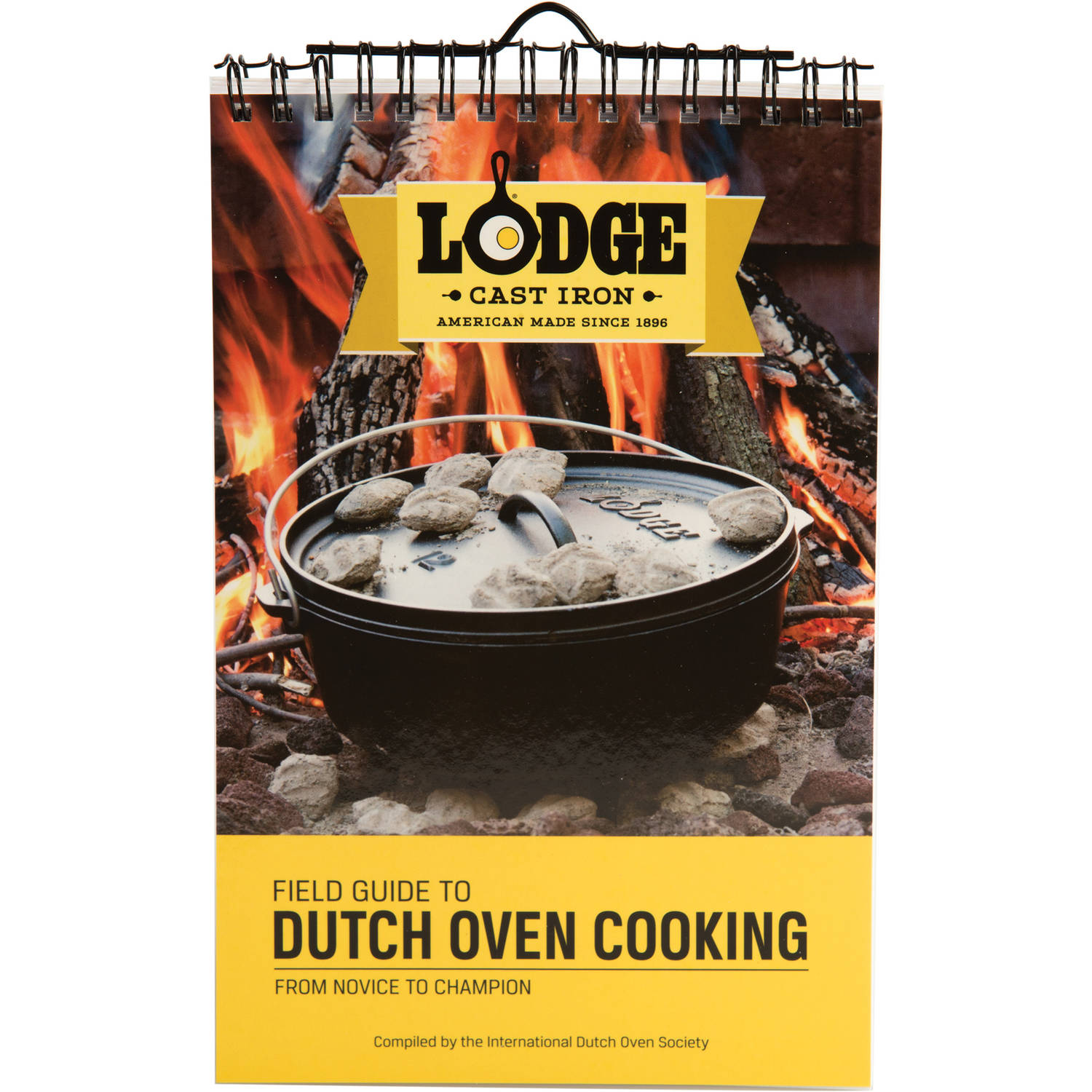 Lodge Field Guide to Dutch Oven Cooking Cookbook, CBIDOS by Lodge Mfg Co