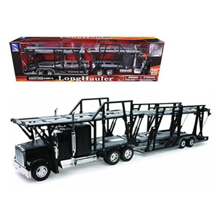Freightliner Classic XL Car Hauler 1:32 Scale Diecast Truck Model, Freightliner Classic XL Car Carrier 1-32 Diecast Model By