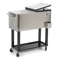 Belleze 80QT Portable Rolling Cooler