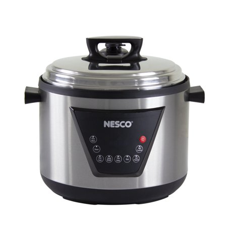 Nesco 11 Quart Multi-Function Pressure Cooker - Stainless Steel (Nesco Electric Pressure Cooker)
