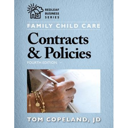 Family Child Care Contracts & Policies, Fourth