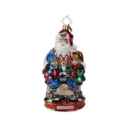 Christopher Radko Soda Shop Surprise Christmas Ornament #1019592 - image 2 of 2