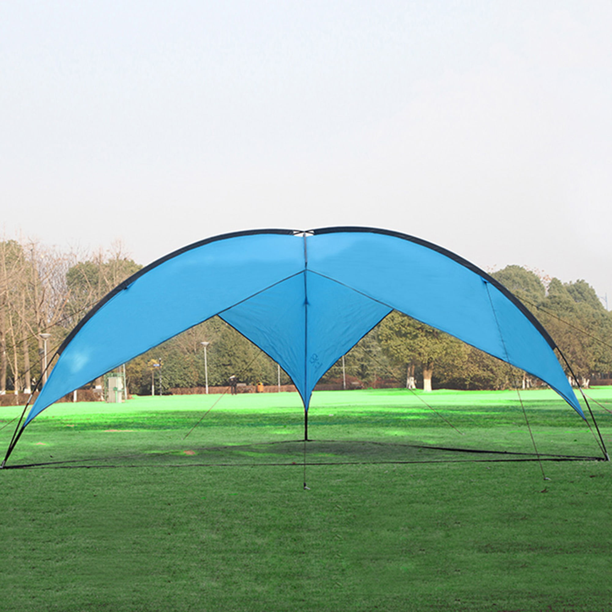 Karmas Products Large Family Beach Canopy Tent Sun Shelter