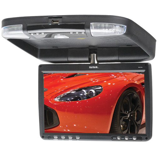 "SOUNDSTORM S9CBL 9"" All-in-One Ceiling-Mount TFT Monitor & DVD Player with IR Transmitter"