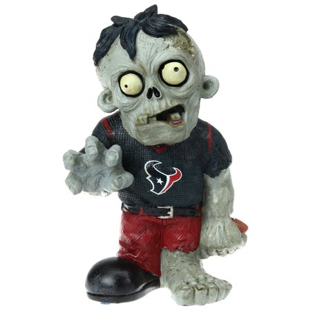 Forever Collectibles NFL Resin Zombie Figurine, Houston Texans Nfl Collectible Pins