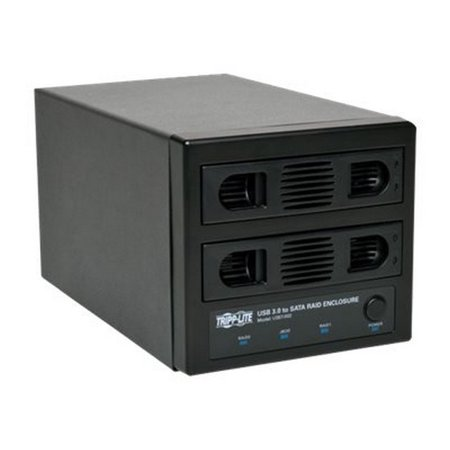 Sata Hot Swap Drive - Tripp Lite Usb 3.0 Superspeed 2 Bay Hot Swap Sata Hard Drive Raid Enclosure - Hard Drive Array
