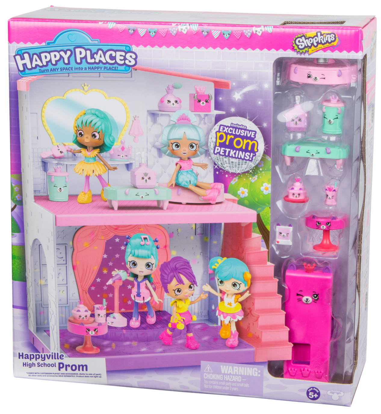 Happy Places Shopkins School Extension PROM NIGHT