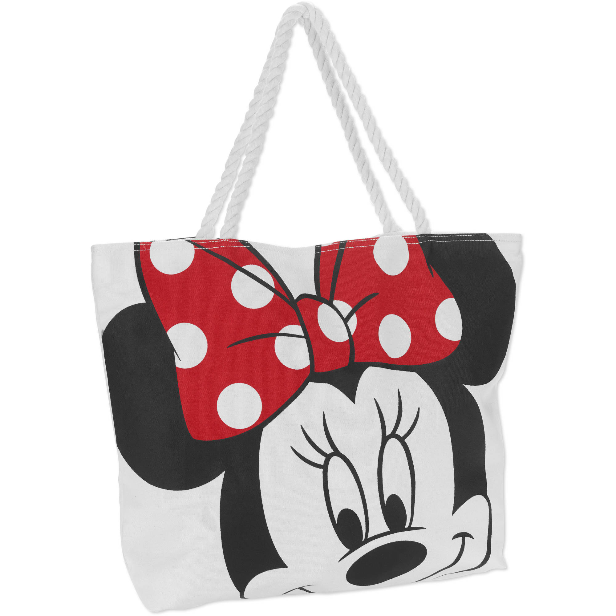 "Disney Minnie Mouse 13"" Canvas Tote"