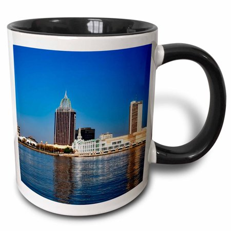 3dRose City Of Mobile, Alabama - Two Tone Black Mug, 11-ounce](Party City In Mobile Alabama)