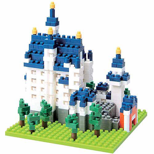 Nanoblock Sites to See Level 3, Neuschwanstein Castle by Ohio Art