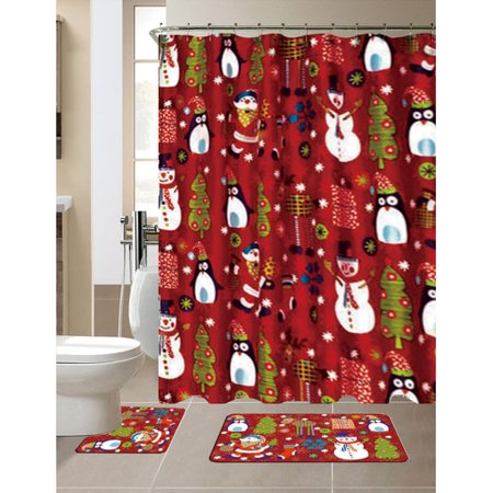 Christmas Kitchen Curtain Sets