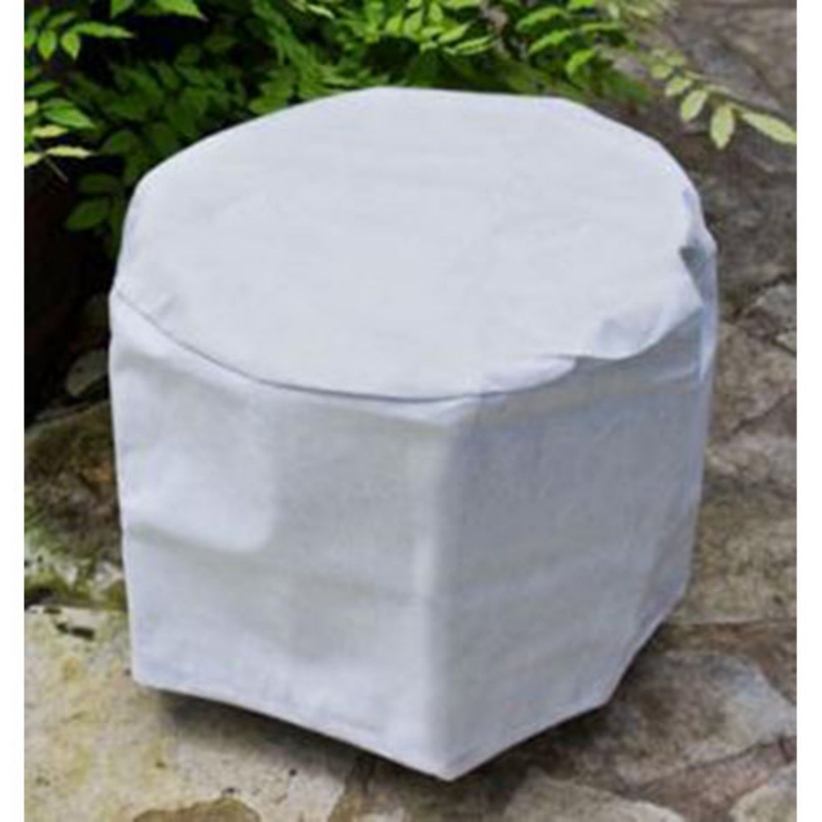 KoverRoos DuPont Tyvek 22 in. White Round Table Cover