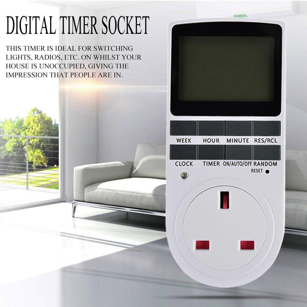 NEW New Digital Electronic Power Timer in Smart Switch Socket Digital LCD