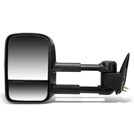 00 Chevy Silverado Manual - For 2003 to 2007 Chevy Silverado / GMC Sierra Manual Adjustment / Telescoping Towing Mirror (Left / Driver)