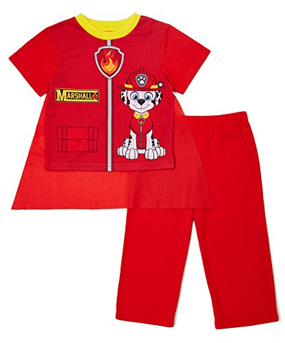 Paw Patrol Little Boys' Two-Piece Caped Pajama Pant Set (2T)