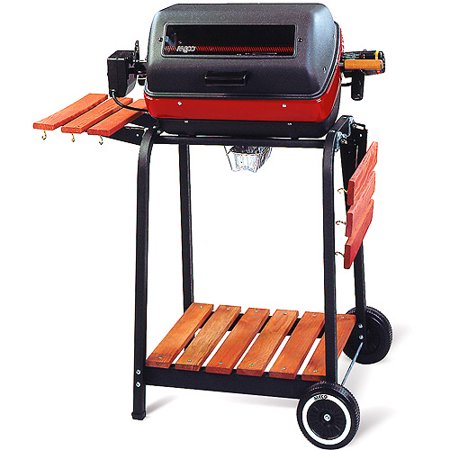 Meco 1500 Watt Deluxe Electric Grill W  Rotisserie Included