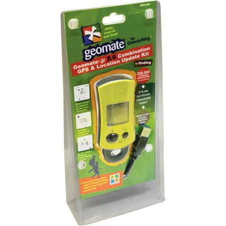 Geomate Jr. 2.0 Geocaching GPS Combo Kit