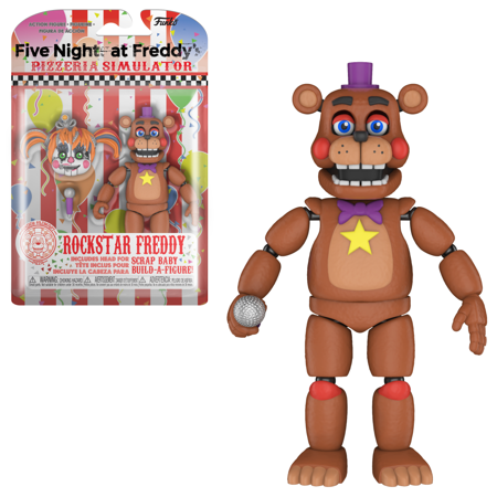 Funko Action Figure: FNAF Pizza Simulator - Rockstar (Five Nights At Freddys 4 Unblocked At School)