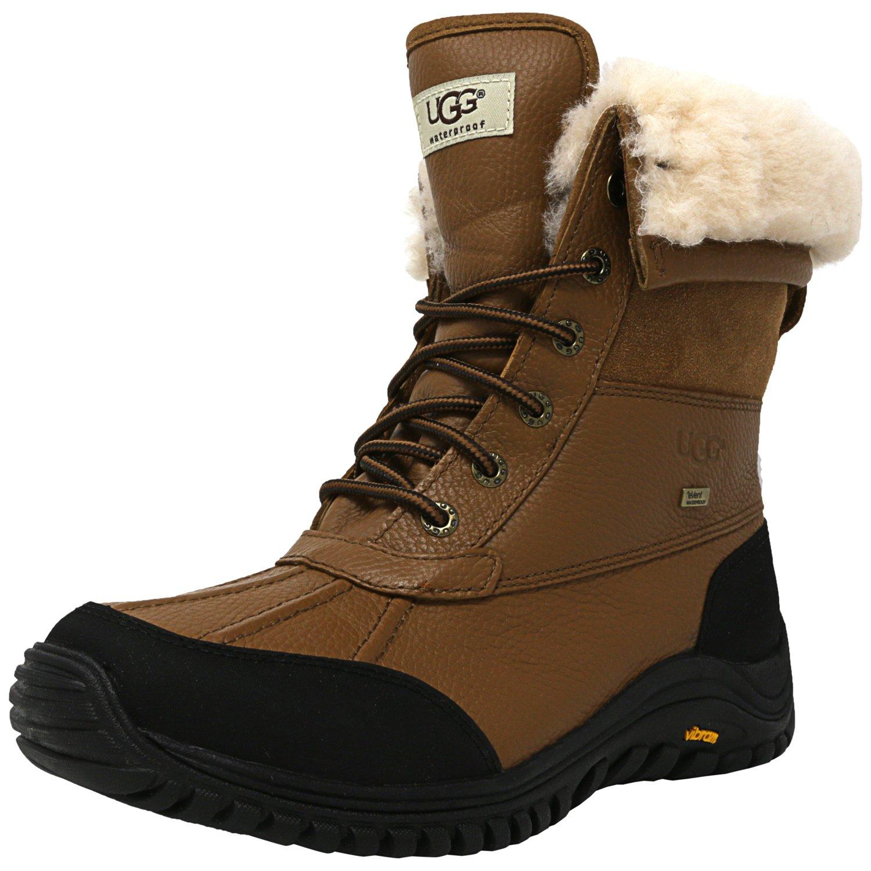 Ugg Women's Adirondack Boot Ii Otter High-Top Leather - 6M