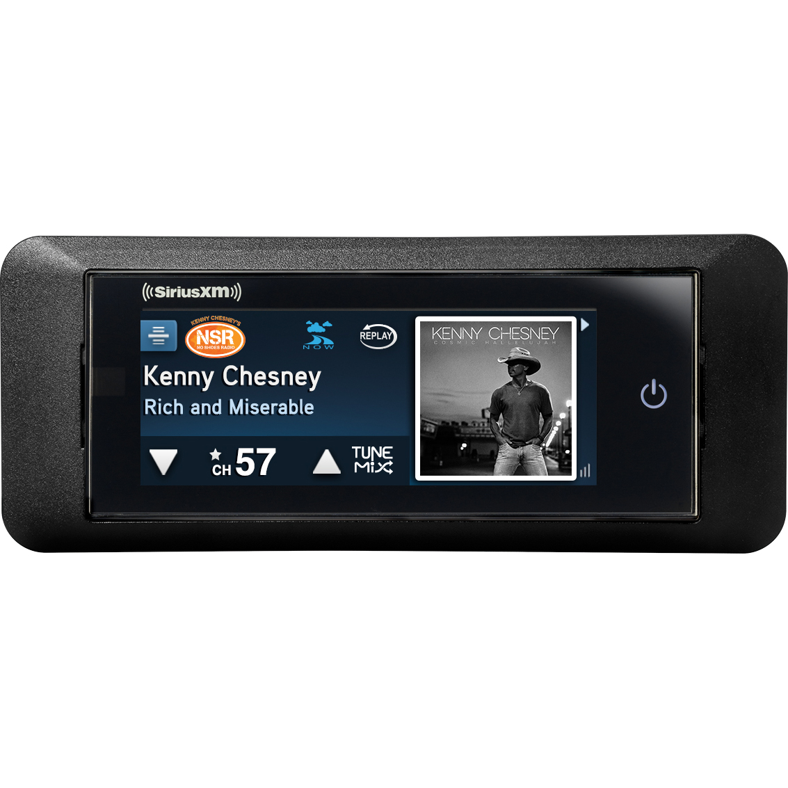 SiriusXM Commander Touch™ Full-Color, Touchscreen Dash-Mounted Radio