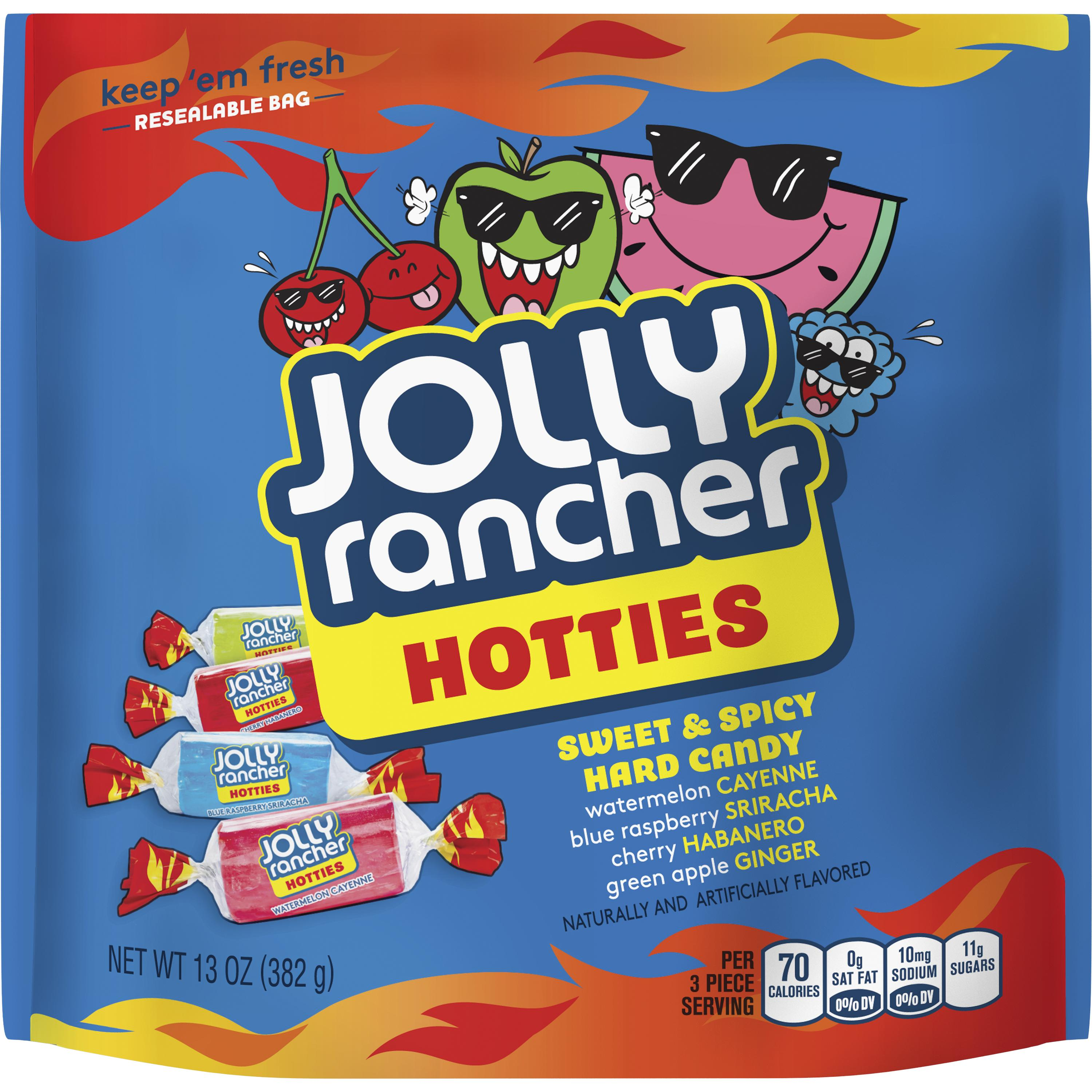 (4 Pack) Jolly Rancher, Hotties Sweet & Spicy Hard Candy, 13 oz