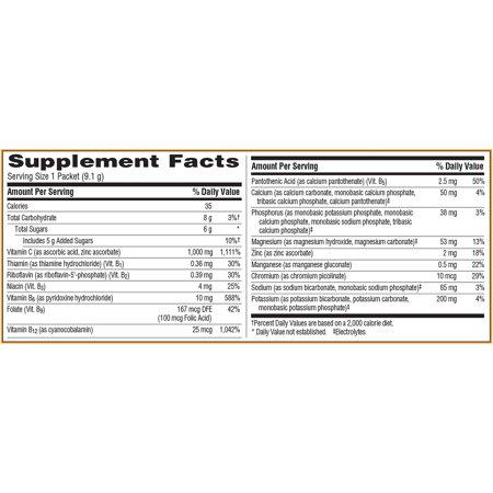 Emergen-C Original Formula (60 Ct, Raspberry) Vitamin C Powder