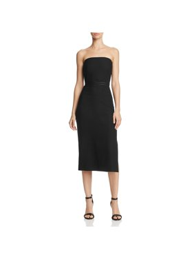 c1f67f71c27e8 Product Image Elizabeth and James Womens Sierra Strapless Fitted Midi Dress