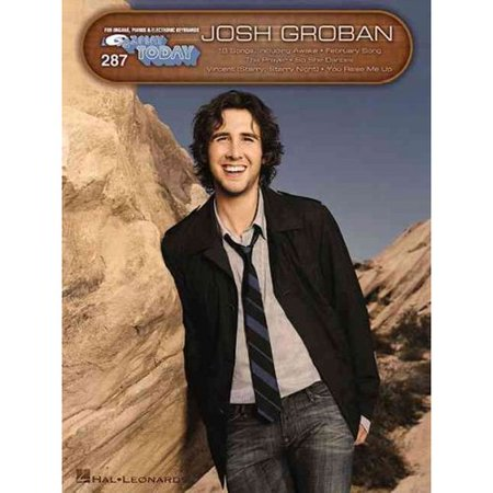 Josh Groban: For Organs, Pianos & Electronic Keyboards