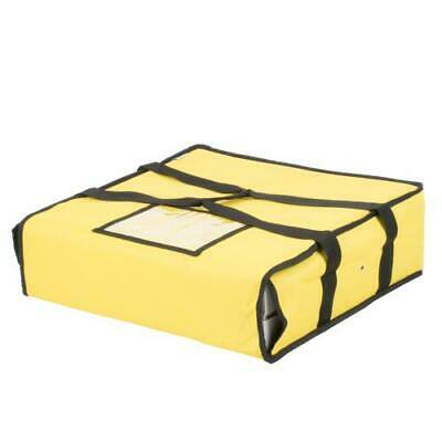 2Pc Choice Insulated Deli Tray / Party Platter Bag, Yellow Nylon, 18