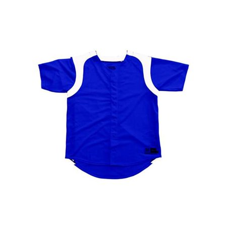 Image of 3N2 2500W-0206-XS Womens Faux Full-Button Royal XSmall