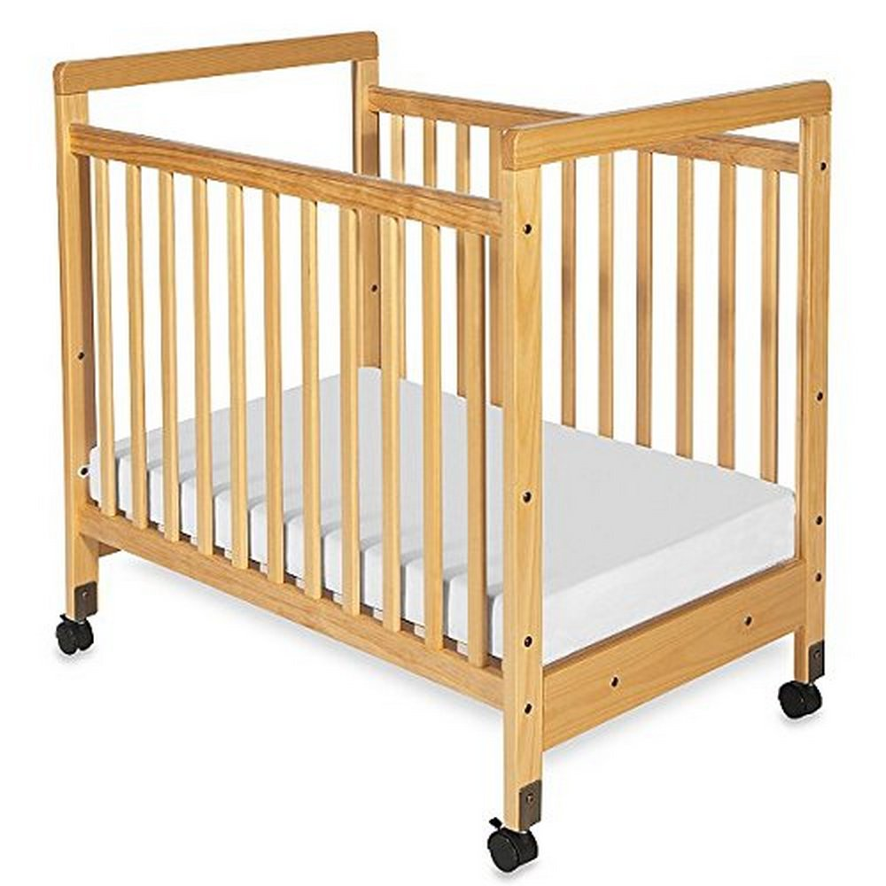 SafetyCraft Fixed-Side Clearview Compact Crib