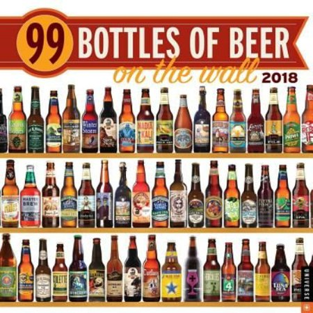 99 Bottles Of Beer On The Wall 2018 Calendar