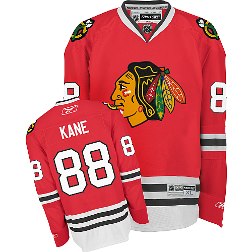 Patrick Kane Chicago Blackhawks Red Reebok Premier Jersey