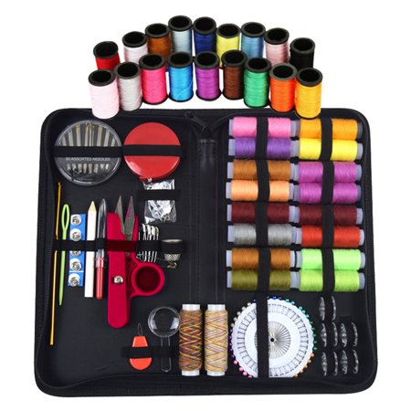 Sewing Kit with 136 Pieces Sewing Accessories for Beginners Traveller Emergency Whole Family to Mend and Repair