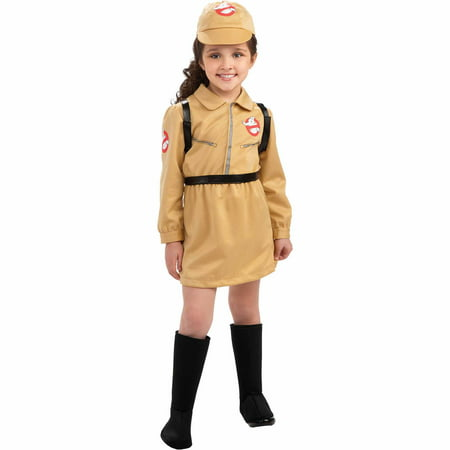 Ghostbusters Girl Child Halloween - Kids Ghostbusters Halloween Costume