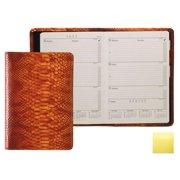 Raika RO 119 Yellow Portable Desk Planner with Map - Yellow