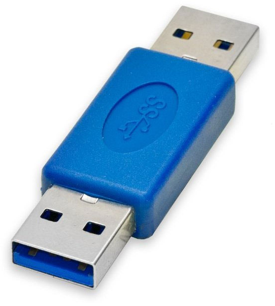 Syba SY-ADA20082 USB 3.0 M-M Gender Changing Adapter NEW